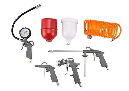 Kit de pistola de pintura de aire 5 piezas