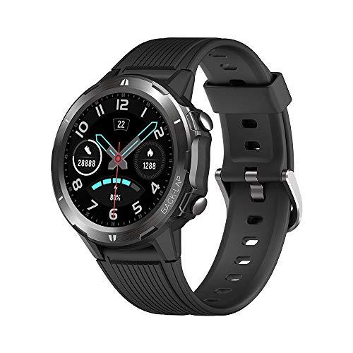 KUNGIX Smartwatch, Reloj Inteligente Hombre Impermeable IP68 con Pulsómetro, Cronómetro, Calorías, Monitor de Sueño, Podómetro Pulsera Actividad Inteligente para Deporte, Reloj de Fitness Mujer niño