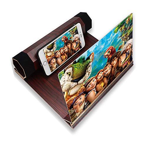 La lupa de la pantalla del teléfono se amplía de 2 a 6 veces, el amplificador de pantalla 3D se amplía con protección contra la radiación, el amplificador de cine en casa para teléfonos móviles
