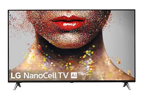 """LG 49SM8500ALEXA - Smart TV NanoCell 4K UHD de 123 cm (49"""") con Alexa Integrada (procesador Inteligente Alpha 7 Gen. 2, Deep Learning, 100% HDR y Dolby Atmos) color negro"""