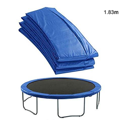 Libelyef - Almohadilla de repuesto para cama elástica, universal, espuma de seguridad, cubierta para borde de trampolín o uso clínico, 1,8 m, 6 pies