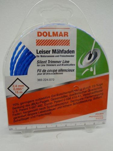 Makita 369224070 369224070-Hilo de Nylon 2.4mm desbrozadoras, Multi-colour, 2.4 x 15M