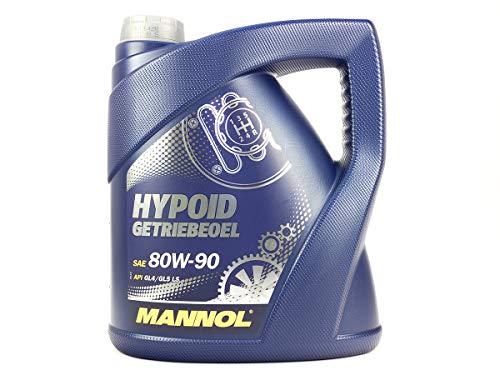 MANNOL hypoid getriebeoel 80W de 90API GL 4/GL 5LS, 4Litro