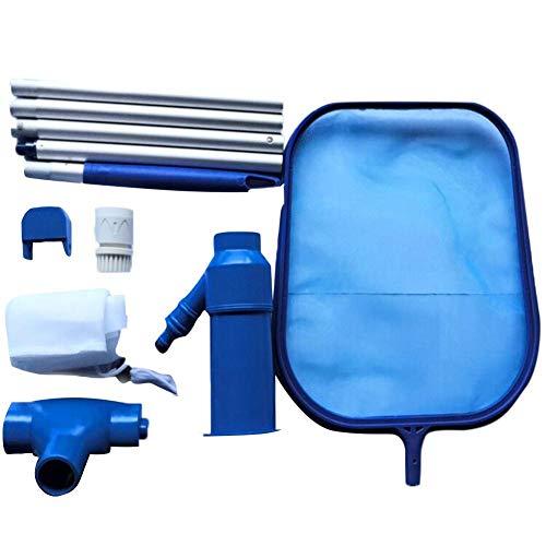 Mantenimiento de la piscina Redes de limpieza Kit de cabezal de succión Herramienta de limpieza Piscina de spa Chorro de vacío