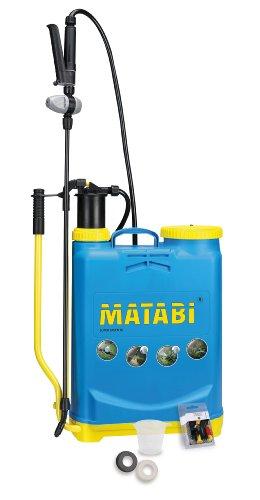 matabi Super Green - Pulverizador, presión retenida, Talla 16, Color Azul