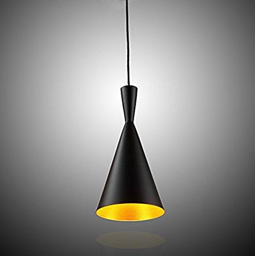 Moderna Industrial Iluminación colgante - 60W LED Metal Vintage Pantallas de Iluminación, Retro Lámpara de Techo para Loft Restaurante Coffee Bar Colgante de Lámpara Clase de eficiencia energética A+