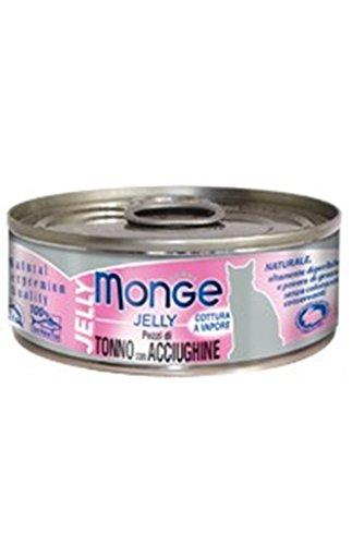 Monge Gatto Jelly Natural - 80 Unidades de Tono/Acebo