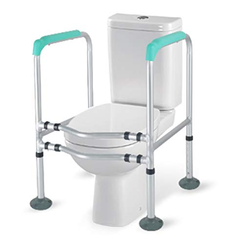 NAN liang- Aseo Permanente de Ayuda Segura apoyar la ayuda del marco antideslizante de la Seguridad del marco de baño se coloca con el mango de madera de barras for personas mayores y discapacitados