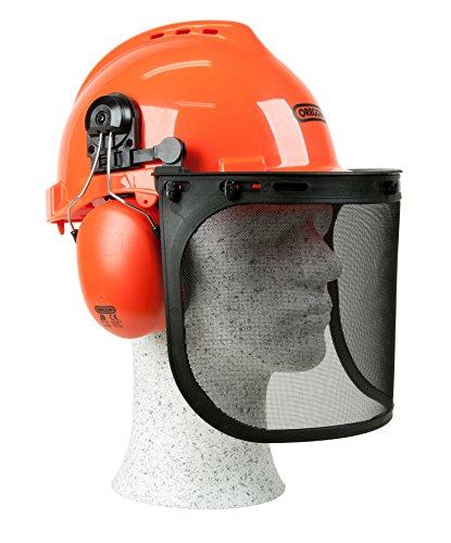 Oregon 562412 Yukon - Casco de seguridad con protector para cara