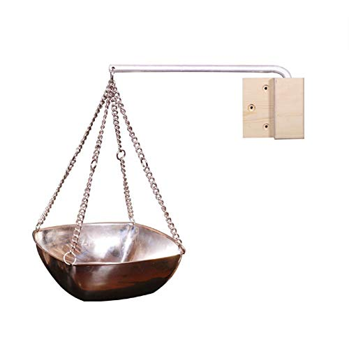 popchilli Sauna Tazón De Cobre Tazón De Hierbas Taza De Aceite Aromático, Aceite Esencial De Acero Inoxidable Accesorios De Sauna para Saunas Y Spas