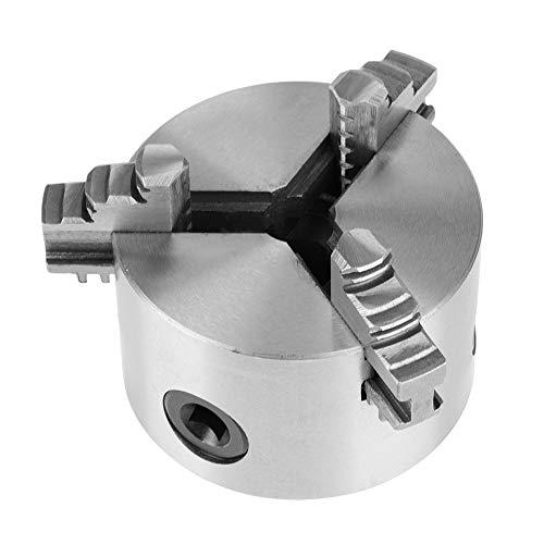 Portabrocas de torno de metal autocentrante de 3 mordazas con piezas de repuesto de torneado de mandíbula K11-80 adicionales