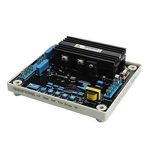 Regulador de voltaje, accesorio del grupo electrógeno Regulador AVR, módulo regulador de voltaje 50HZ 60HZ ajustable