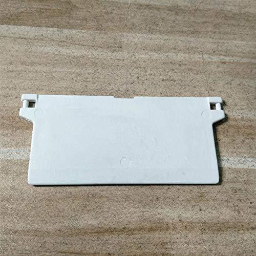 Repuestos ciegos verticales 10 piezas Clips reparación Instalación fácil Pesas Conector Inicio Cadena Enlace Ventana Colgador lamas blancas Accesorios para cortinas Reemplazo partes inferiores(Un)