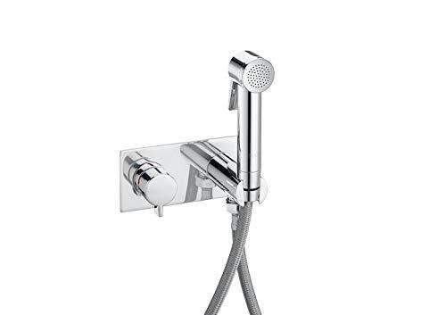 ROCA A5B9361C00 Be Fresh Kit Griferia De Inodoro-Bidet Empotrado Con Placa