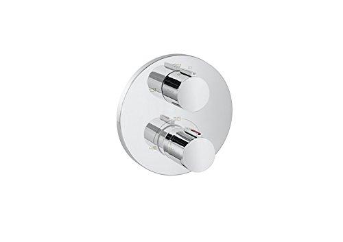 Roca T 1000 - grifo termostático empotrable para baño y ducha con desviador-regulador de caudal. a completar . Griferias hidrosanitarias termostaticas. Ref. A5A0C88C00