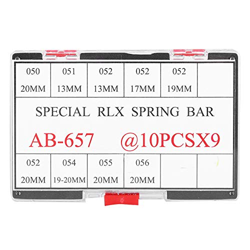 Rosilesi Reloj Pulsera Tira de Resorte Correa Pin de conexión Kit de Piezas de reparación de Relojes Ab-657