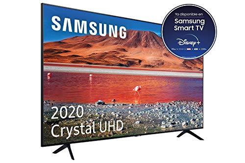 """Samsung Crystal UHD 2020 43TU7005- Smart TV de 43"""", Resolución 4K, HDR 10+, Crystal Display, Procesador 4K, Función One Remote Control y Compatible con Asistente de Voz"""