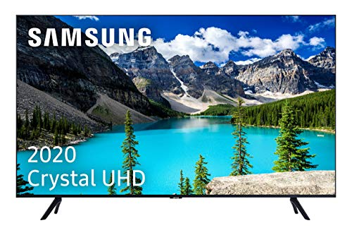 """Samsung Crystal UHD 2020 50TU8005 - Smart TV de 50"""" con Resolución 4K, HDR 10+, Crystal Display, Procesador 4K, PurColor, Sonido Inteligente, One Remote Control y Asistentes de Voz Integrados"""