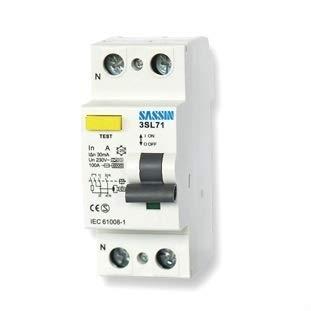 Sassin Interruptor diferencial Superinmunizado 2P 40A 30mA