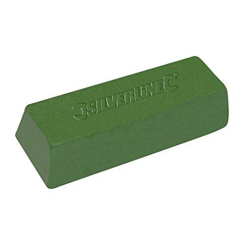 Silverline Tools 107889 - Pasta para pulir de color verde (500 g)