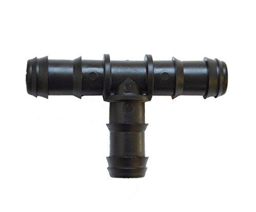 S&M 010460 16 mm para riego por Goteo, blíster de 10 Unidades, Negro, 4.5x8.5x24 cm