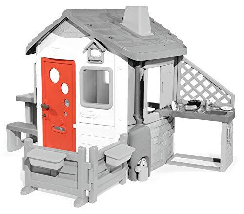 Smoby-Puerta con picaporte para Jura Lodge II (810905) Accesorio casita, color rojo , color/modelo surtido