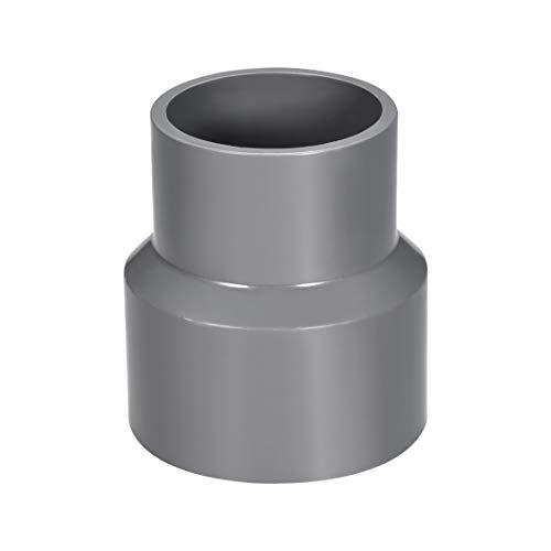 Sourcingmap - Cubo de acoplamiento reductor de PVC por Hub, DWV tubería de desagüe de desagüe