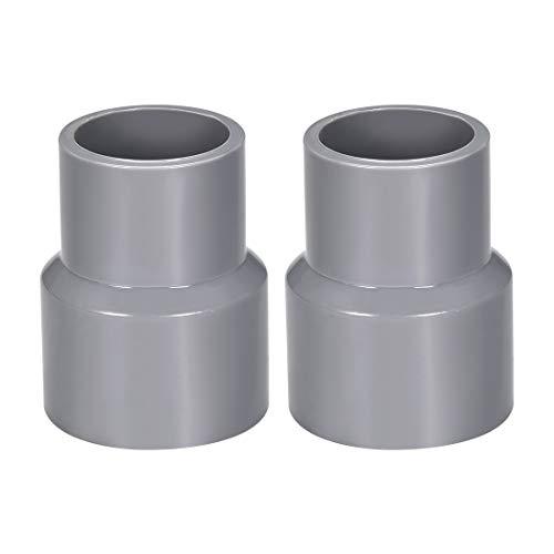 Sourcingmap - Cubo de acoplamiento reductor de PVC por Hub, tubería DWV para desagüe