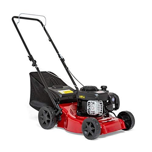 "Sprint 2691620 410P Push Petrol Lawn Mower 41cm (16""), Briggs & Stratton 300E Series 125cc, Dark red, 40 cm/P"