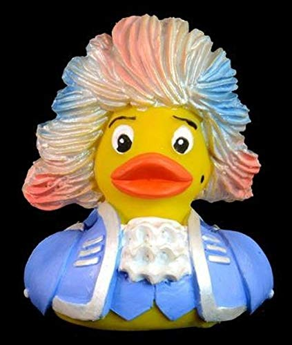 The mozart rubber duck: rock meets amadeus (lilac)