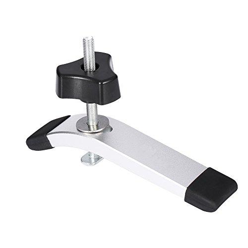TOPINCN Conjunto de Acción Rápida de Metal de Abrazadera de Sujeción Es Útil para Herramienta de Carpintería T-Track T-Slot Aplicaciones de Metalurgia(Juego de Platos a presión)