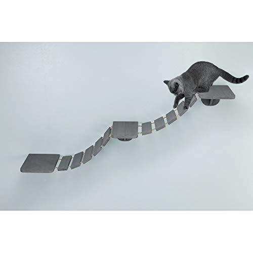 Trixie Escalera Gatos Escalada, 150 × 30 cm, Gris, Gato