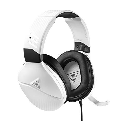 Turtle Beach Recon 200 Auriculares de Juego Amplificados PS4, PS5 y Xbox One, Blanco