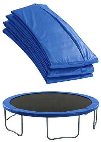 Upper Bounce Cubierta de Protección para Bordes de Repuesto (Cubre Resortes Muelles) para Cama Elástica Trampolín Redondo 1.83 m Cerco 25.4 cm Azul
