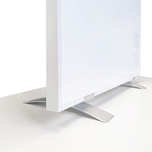 Viesta SF2 Pies para calefacción (paquete de 2) - aluminio, accesorios plateados