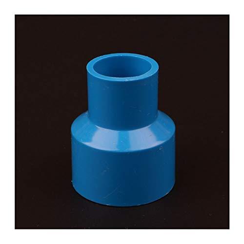 Wgd Jietou 2pcs 20 25 32 40 50 Mm De PVC Tubo Recto Reducción Conectores Adaptadores del Tubo De Agua del Acuario Conjunto Jardín De Riego Accesorios (Color : 32 25mm, Size : Blue)