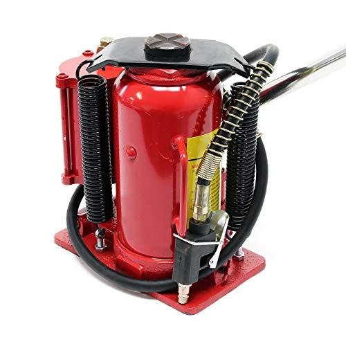WilTec Gato hidráulico 12T Elevador de Coche Gato de Botella Taller mecánico Garaje Accesorios vehículos