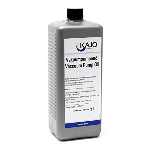 WilTec Kajo Universal Vacuum Pump Oil Aceite de vacío para Bombas rotativas de paletas 1000ml