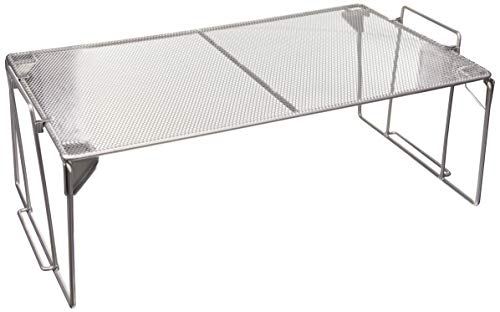 Zeller 17756 - Estantería universal apilable (43 longitud x 25,5 anchura x 15,5 altura cm)